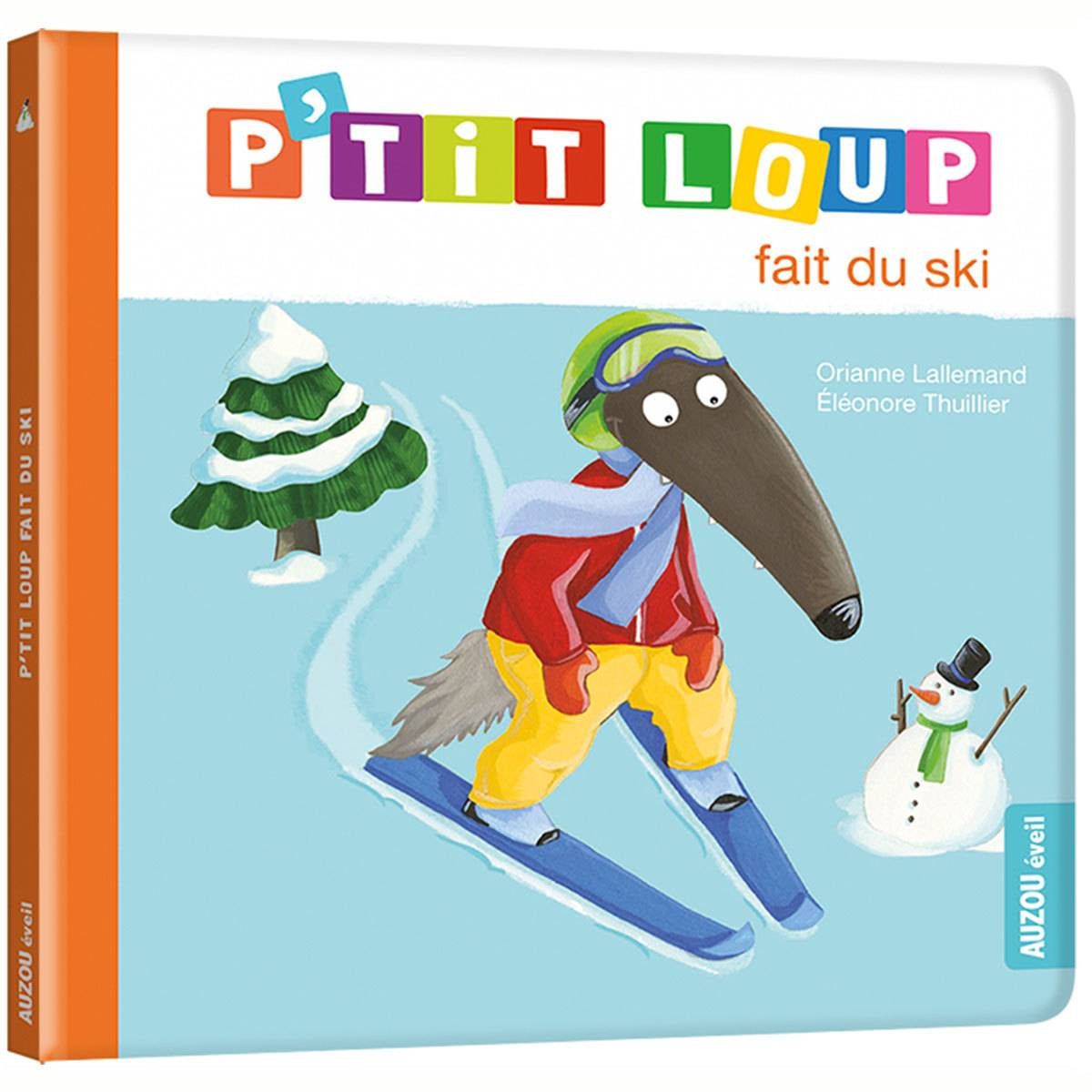Auzou P'tit Loup fait du ski