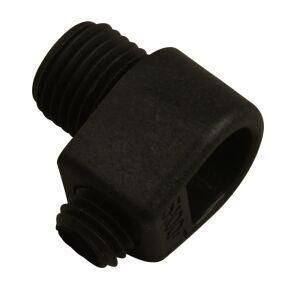 Girard et Sudron Serre-câble nylon noir avec vis blocage et pas 10*1mm