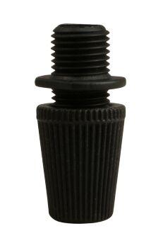 Serre-câble noir pour fil méplat et rond