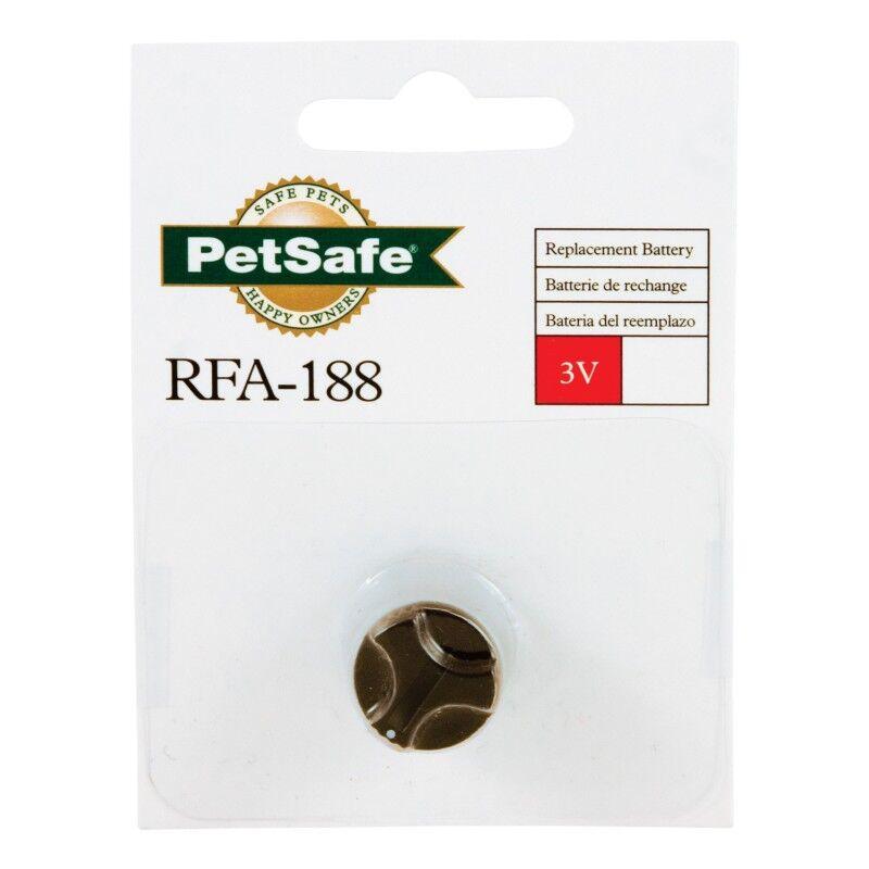 petsafe rfa 188 - pile lithium de 3 volts