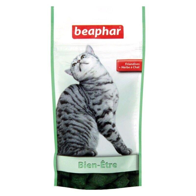 BEAPHAR bien-Être, friandises à l'herbe à chat
