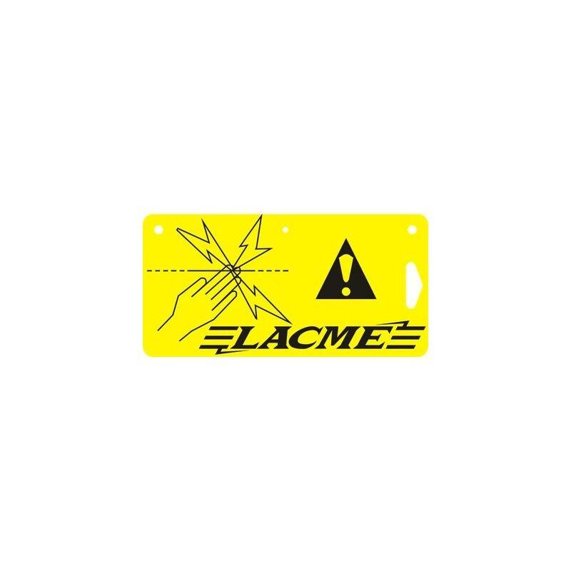 lacme plaque signalétique