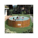 gre  Gre Piscine hors sol acier aspect bois 460 x 132 Kit piscine hors... par LeGuide.com Publicité
