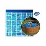 gre  Gre Liner mosaïque Ø 4,6 x 1,32 m Gre Pool pour piscine ronde Fabriqué... par LeGuide.com Publicité