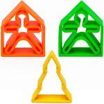 DENA Set de jeux 5 pièces en silicone Néon - DENA Un set de jouets 100%... par LeGuide.com Publicité