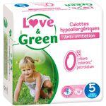 LOVE & GREEN Culottes d'apprentissage jetables écologiques Taille... par LeGuide.com Publicité