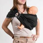 NEOBULLE Porte-bébé NEO SLING Noir coton Bio - NEOBULLE  par LeGuide.com Publicité