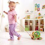 hape  HAPE Escargot à tirer avec jeu de forme E0349 - HAPE Un adorable... par LeGuide.com Publicité