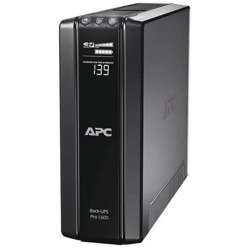 APC by schneider electric Onduleur Back Ups Pro 1500va - 865 Watt - Apc