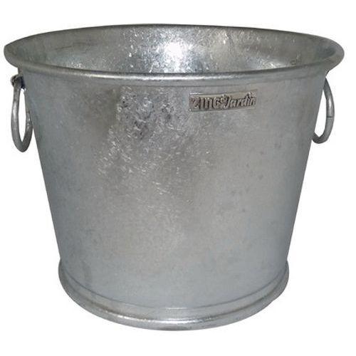 Manutan Pot Zinc - Plantes Et Fleurs