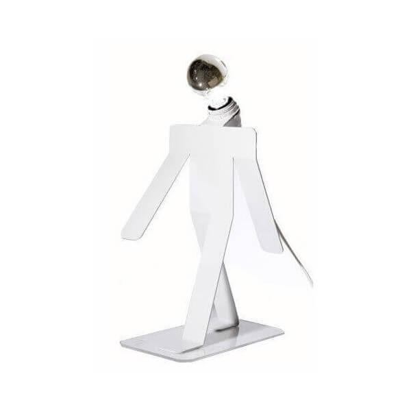 Thomas de Lussac Lampe Moonwalk Cosmo blanc