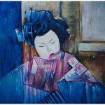 MATHI DESIGN Tableau exotique Geisha Multicolore Tableau, peint à la... par LeGuide.com Publicité