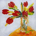 MATHI DESIGN Tableau Tulipes Rouges Multicolore Habillez votre mur avec... par LeGuide.com Publicité