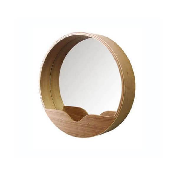 Zuiver ZEN - Miroir en  bois de bambou  naturel Blond