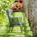pedrali  Pedrali Fauteuil Pasha Pedrali Transparent Ce fauteuil élégant... par LeGuide.com Publicité