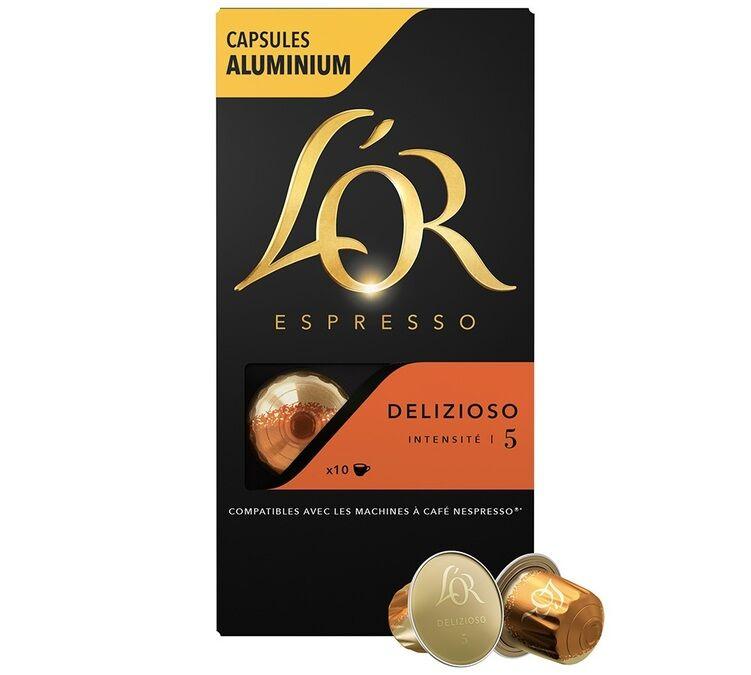 L Or Espresso L'or Espresso Delizioso compatibles Nespresso® - 10 capsules