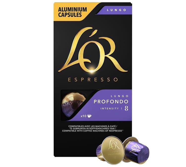 L Or Espresso L'or Espresso Lungo Profondo compatibles Nespresso®- 10 capsules
