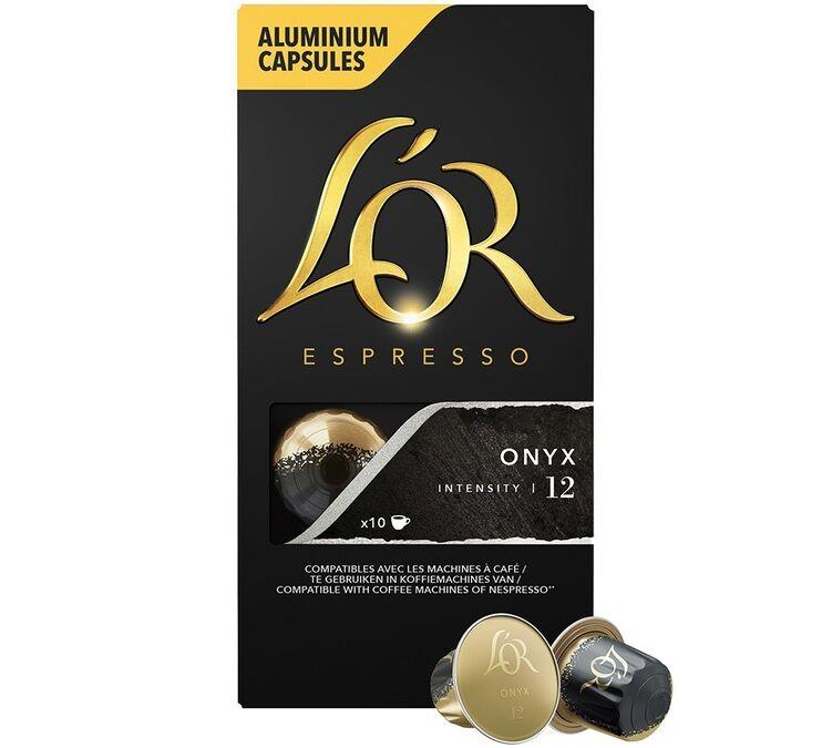 L Or Espresso L'Or Espresso Onyx compatibles Nespresso® - 10 capsules