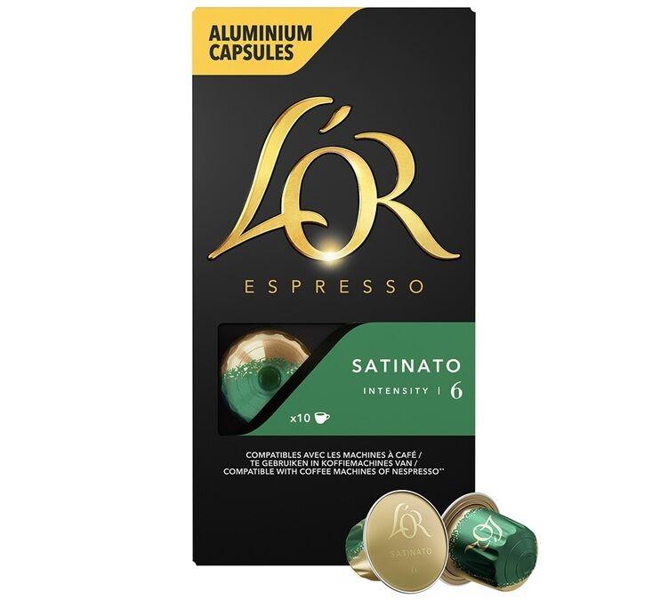 L Or Espresso L'or Espresso Satinato compatibles Nespresso® - 10 capsules