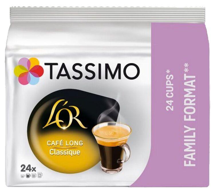 L Or Espresso Dosettes Tassimo L'OR Café long Classique Familial - 24 T-disc