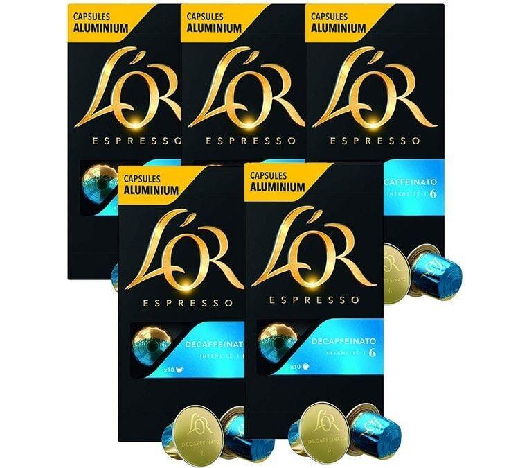 L Or Espresso Pack L'or Espresso Decaffeinato 5 x 10 capsules