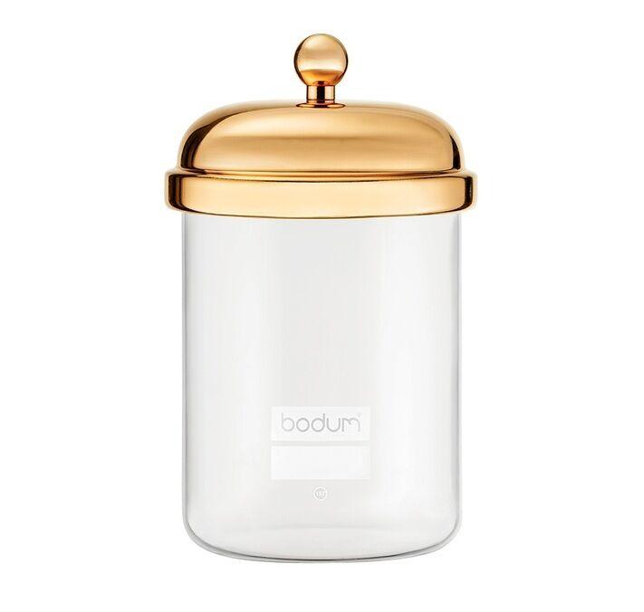 Bodum Boîte avec couvercle plaqué or Classique 0.5L - Bodum