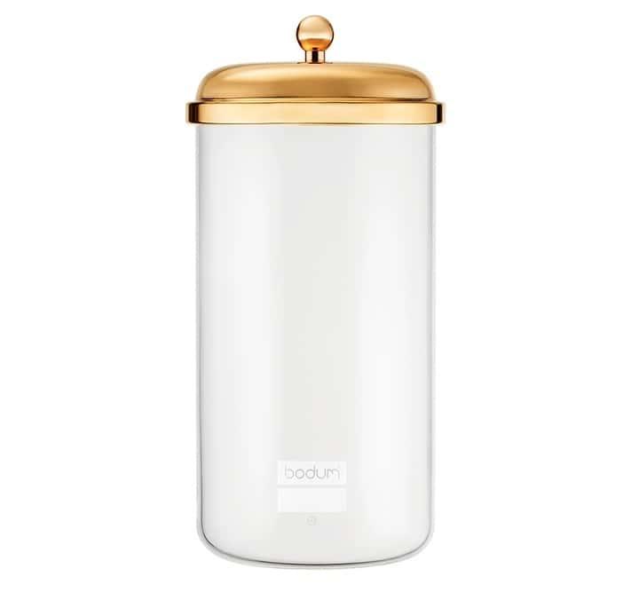 Bodum Boîte avec couvercle plaqué or Classique 2L - Bodum