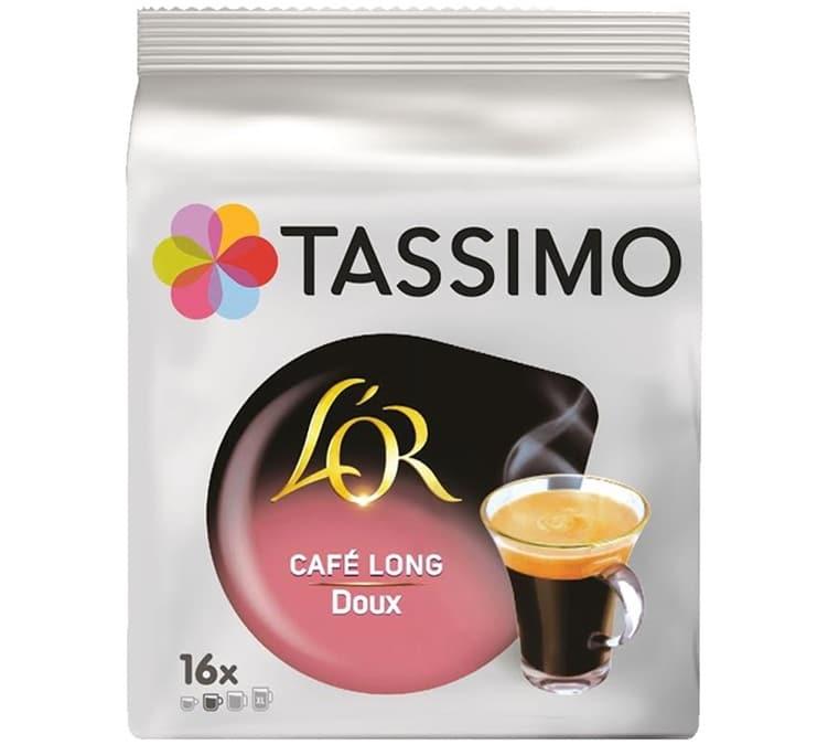 L Or Espresso Dosettes Tassimo L'OR Café Long Doux - 16 T-disc