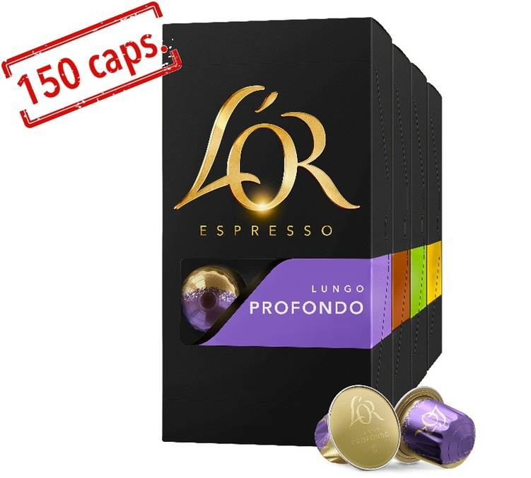 L Or Espresso Pack Sélection Lungos capsules compatibles Nespresso®- 15 x 10 - L'Or Espresso