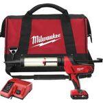 milwaukee  Milwaukee Pistolet à colle C18 PCG-400T-2 MILWAUKEE 400ml 18V... par LeGuide.com Publicité