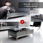 Ensemble meuble télé et table basse Elégante Ensemble meubleTV et table... par LeGuide.com Publicité