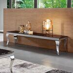 Meuble TV design EMA Aux courbes voluptueuses, ce meuble bas accueillera... par LeGuide.com Publicité