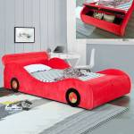 Lit enfant voiture avec rangement Speed - Couleurs - Rouge, Tailles -... par LeGuide.com Publicité