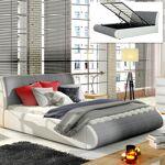 LIT COFFRE XENON AVEC SOMMIER Optez pour le lit coffreXENON 2 en 1 en... par LeGuide.com Publicité