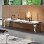 Meuble TV design EMA - Couleurs - Blanc Aux courbes voluptueuses, ce... par LeGuide.com Publicité