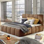 Lit coffre sommier relevable design EDVIGE - Couleurs - Tissu Crème ,... par LeGuide.com Publicité