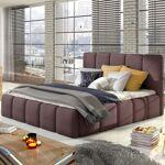 Lit coffre sommier relevable design EDVIGE - Couleurs - Tissu Violet... par LeGuide.com Publicité