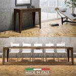 Table Console extensible Isotta Bois - Couleurs - Noyer, Nombre d'extensions... par LeGuide.com Publicité
