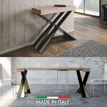 Table Console extensible Diago - Couleurs - Chêne Nature, Nombre d'extensions... par LeGuide.com Publicité