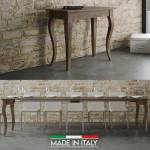 Table Console extensible Olanda - Couleurs - Noyer, Nombre d'extensions... par LeGuide.com Publicité