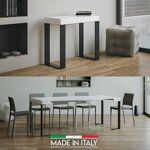 Table Console extensible Tecno - Couleurs - Blanc, Nombre d'extensions... par LeGuide.com Publicité