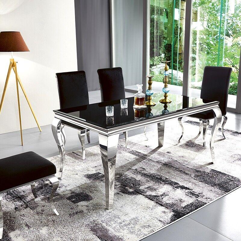 Table à manger design EMA - Couleurs - Noir