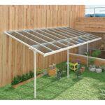X-Metal Toit de terrasse ajustable en aluminium laqué blanc 3,05x6,18m... par LeGuide.com Publicité