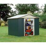 yardmaster  Yardmaster Abri de jardin métal vert 8,48m² + kit d'ancrage... par LeGuide.com Publicité