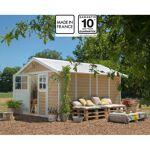 grosfillex  Grosfillex Abri de jardin en PVC 11,2m² DECO Sherwood Grosfillex... par LeGuide.com Publicité