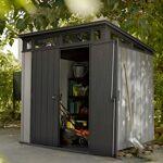 keter  Keter Abri en résine brossée monopente Brossium 4,7m² + plancher... par LeGuide.com Publicité