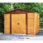 X-Metal Abri de jardin en métal aspect bois 6,62m² + kit d'ancrage... par LeGuide.com Publicité