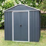 yardmaster  Yardmaster Abri de jardin métal anthracite 5,97m² + kit d'ancrage... par LeGuide.com Publicité