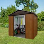 yardmaster  Yardmaster Abri de jardin métal aspect bois et marron 5,97m²... par LeGuide.com Publicité