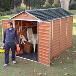 palram  Palram Abri de jardin en polycarbonate 5,28m² Skylight Amber -... par LeGuide.com Publicité